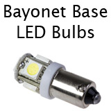 Bayonet Base LED Bulbs
