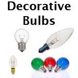 Decorative Shaped Light Bulbs