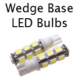 Wedge Base LED Bulbs