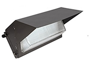 LED Wall Pack 28W with glass refractor