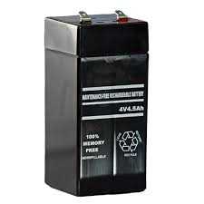 4V 4.5AH Sealed Lead Acid Battery
