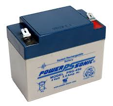 4V 5AH Sealed Lead Acid Battery